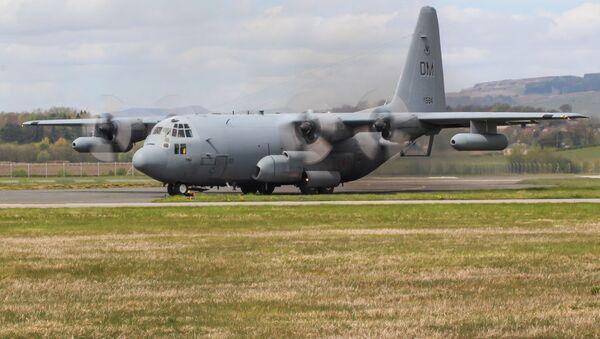 Letadlo pro radioelektronické poruchy EC-130H Comapss Call - Sputnik Česká republika