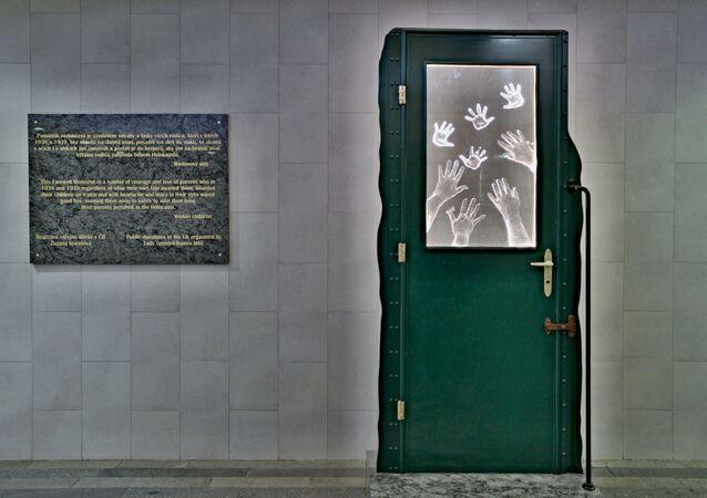 Památník Rozloučení na pražském hlavním nádraží