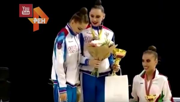 Arina Averinová, Darja Trubnikovová a Katrin Tasevová - Sputnik Česká republika
