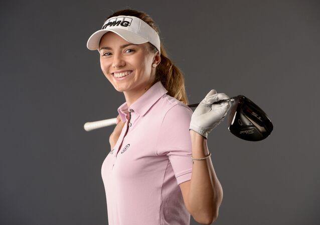 Česká golfistka Klára Spilková