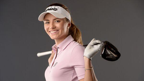 Česká golfistka Klára Spilková  - Sputnik Česká republika