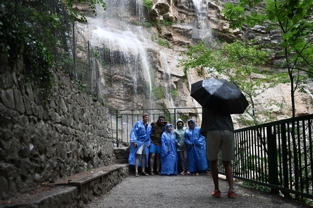Vodopád Učan-Su u Jalty.