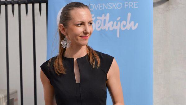 Ředitelka Centra pro výzkum etnicity a kultury Elena Kriglerová Gallová  - Sputnik Česká republika