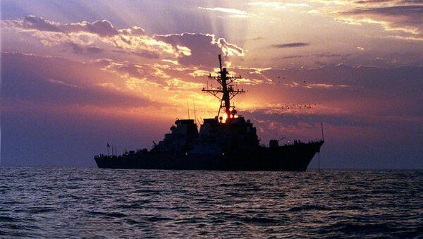 Americký torpédoborec v Perském zálivu - Sputnik Česká republika