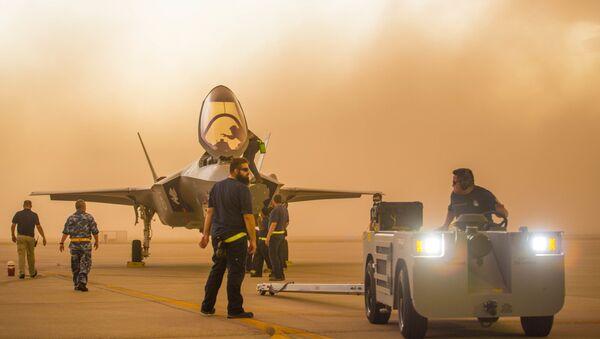 Americká vojenská letecká základna. Ilustrační foto - Sputnik Česká republika
