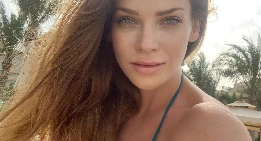 Slovenská modelka Andrea Verešová