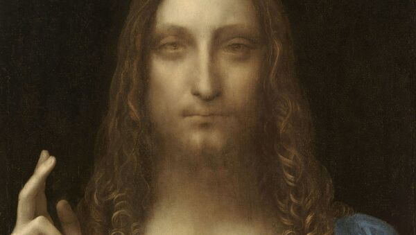 Obraz Salvator Mundi (Spasitel světa) Leonarda da Vinciho - Sputnik Česká republika