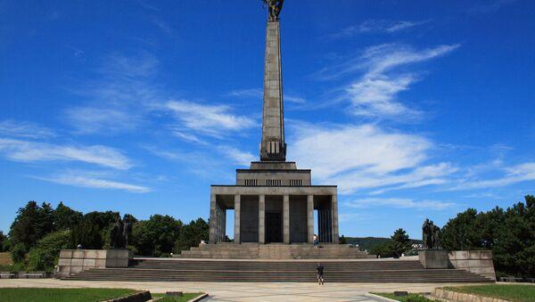 Pamětní komplex Slavin v Bratislavě, Slovensko - Sputnik Česká republika