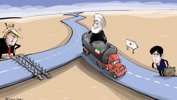 Íránská ropa jede do Japonska - Sputnik Česká republika