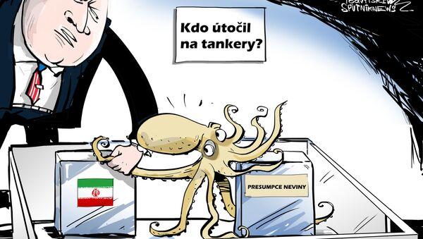 Žádné pochyby! Za to může Írán - Sputnik Česká republika