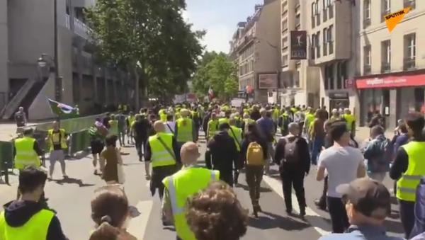 31. protestní akce žlutých vest v Paříži - Sputnik Česká republika