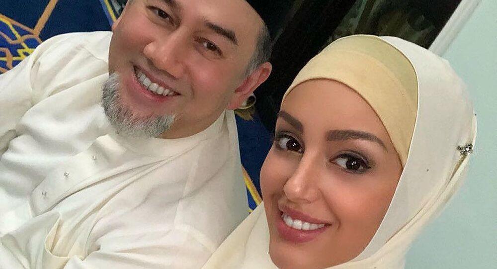 Rihana Petra a Sultan Muhammad V