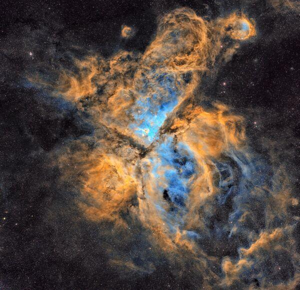 Snímek The Carina Nebula chorvatského fotografa Petara Babiće. - Sputnik Česká republika