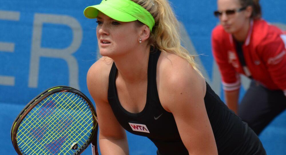 Česká profesionální tenistka Tereza Martincová