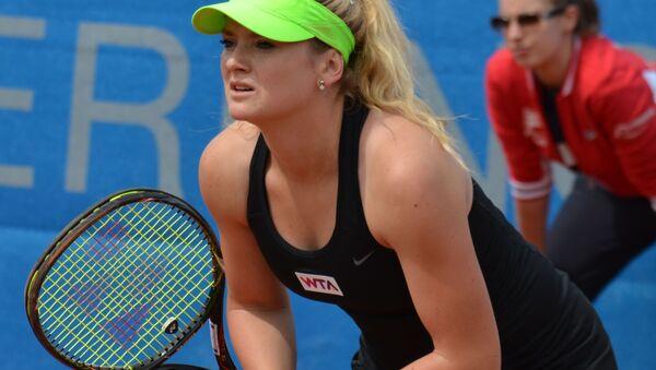 Česká profesionální tenistka Tereza Martincová  - Sputnik Česká republika