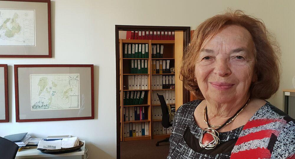 Livia Klausová, předsedkyně správní rady Nadačního fondu manželů Livie a Václava Klausových