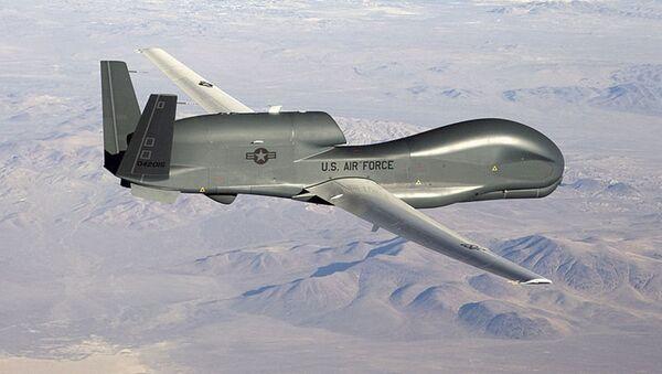 Americký průzkumný dron RQ-4 Global Hawk - Sputnik Česká republika