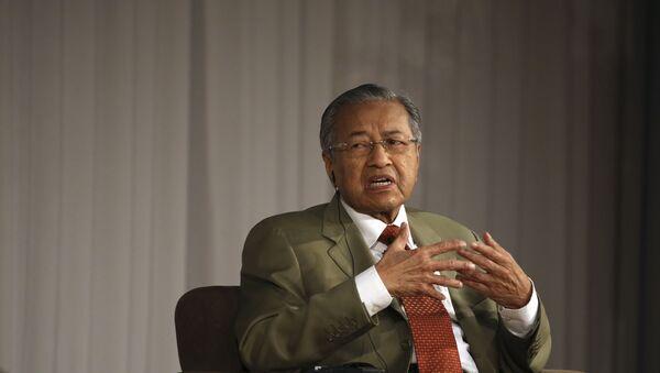 Premiér Malajsie Mahathir Mohamad  - Sputnik Česká republika