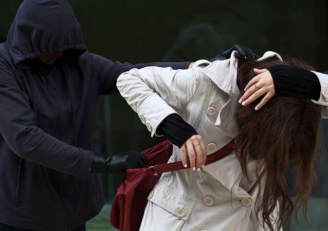 Útok na ženu. Ilustrační foto