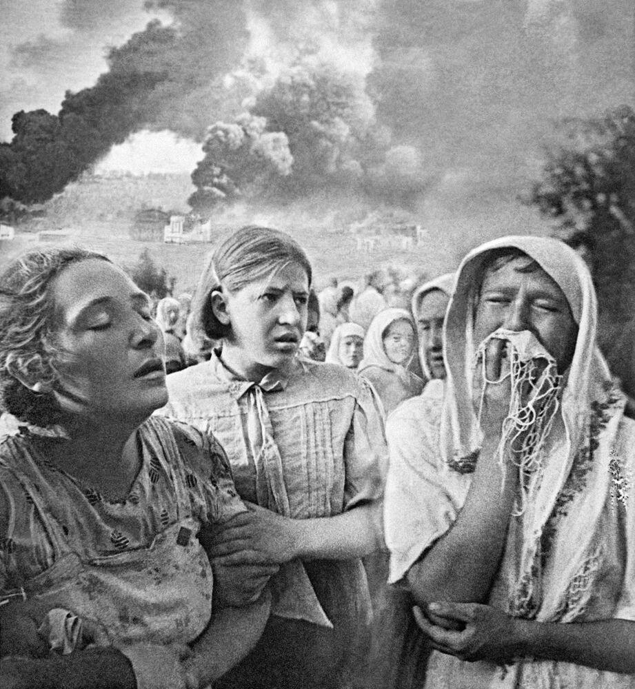 Velká vlastenecká válka, 23. června 1941 v Kyjevě.
