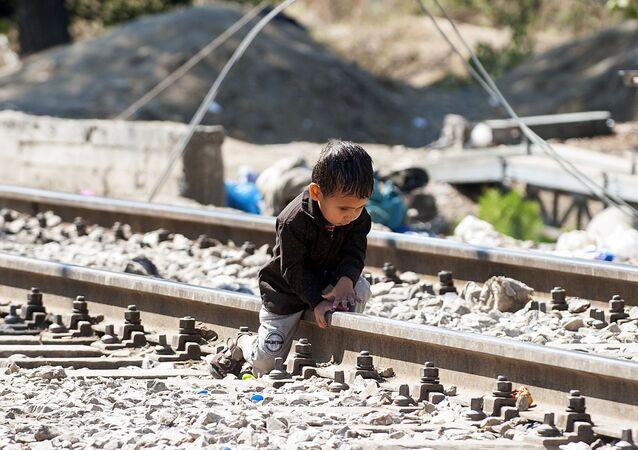 Uprchlík. Ilustrační foto