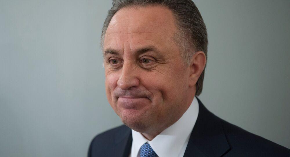 Ministr sportu RF Vitalij Mutko