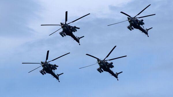 Vrtulníky Mi-28N Noční lovec - Sputnik Česká republika