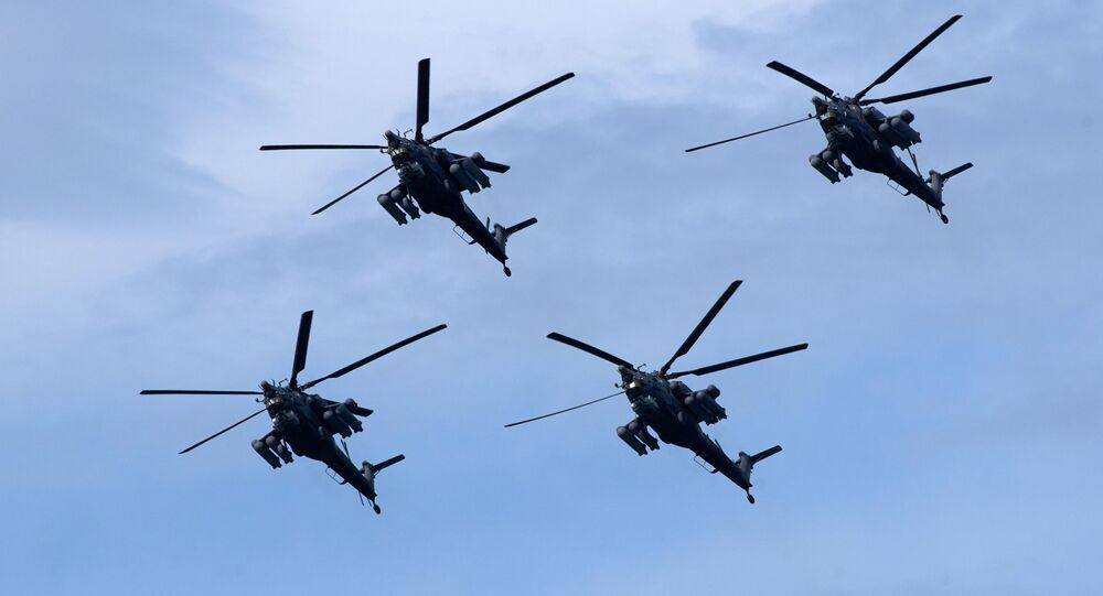 Vrtulníky Mi-28N Noční lovec