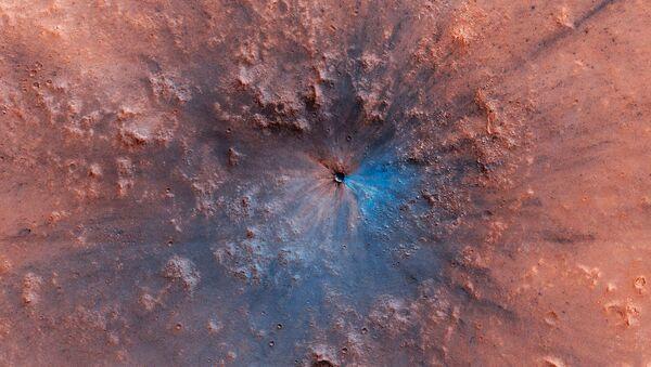 Mars vyfocený stanicí Mars Reconnaissance Orbiter - Sputnik Česká republika