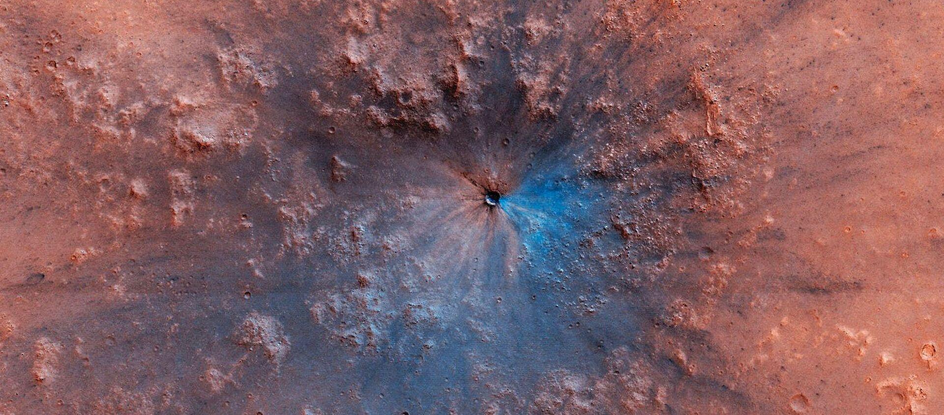 Mars vyfocený stanicí Mars Reconnaissance Orbiter - Sputnik Česká republika, 1920, 05.02.2021