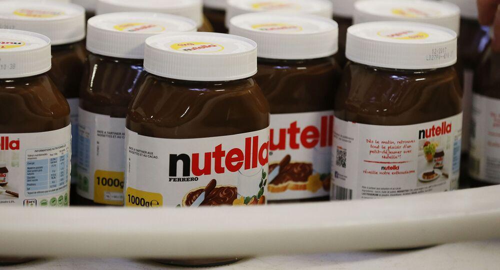 Čokoládová pasta Nutella