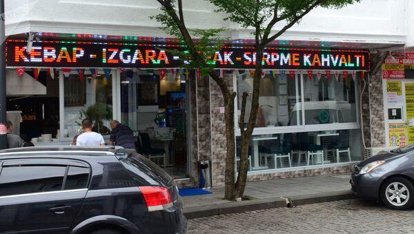 Turecké obchody, kavárny a restaurace v Batumi - Sputnik Česká republika