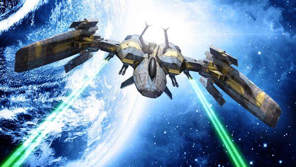 Kosmická loď s laserovými zbraněmi - Sputnik Česká republika