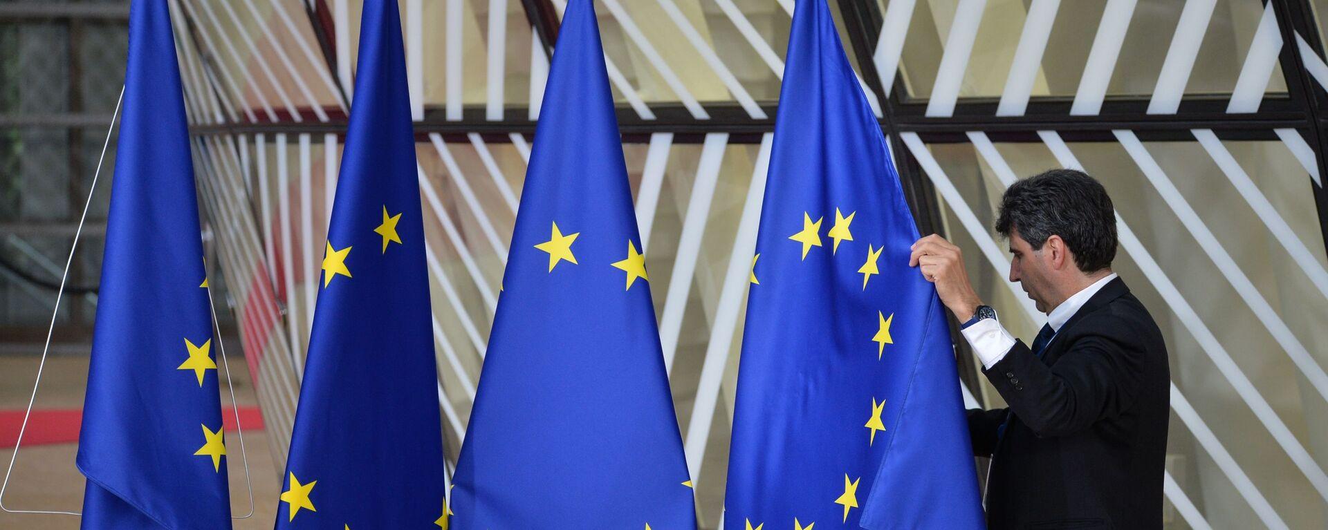 Vlajky EU - Sputnik Česká republika, 1920, 02.07.2020