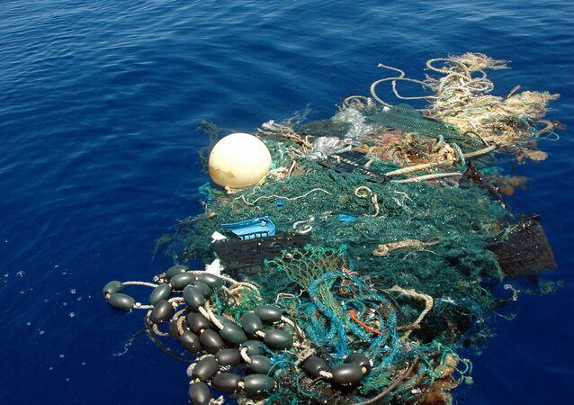 Odpadky v Tichém oceánu