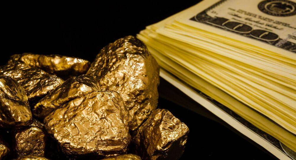 Zlato a dolary
