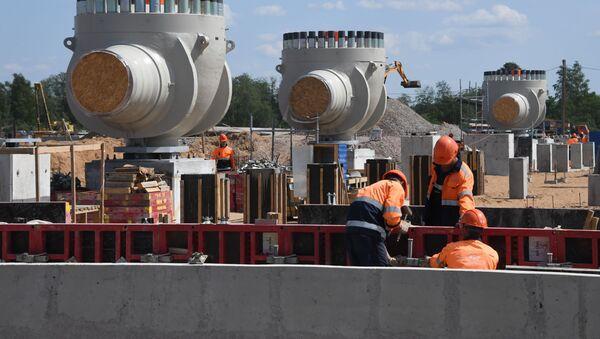Výstavba plynovodu Nord Stream 2 - Sputnik Česká republika