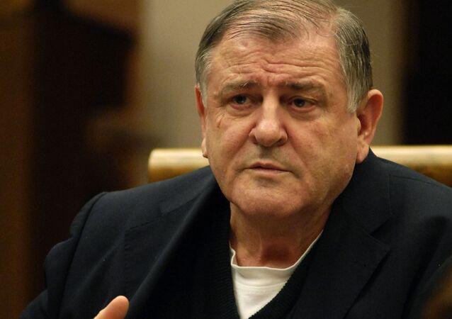 Bývalý slovenský premiér Vladimír Mečiar