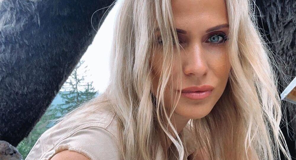 Česká herečka, modelka a moderátorka Michaela Ochotská
