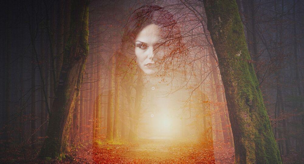 Přízrak v lese