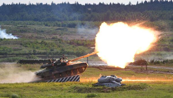 Tank T-90A - Sputnik Česká republika