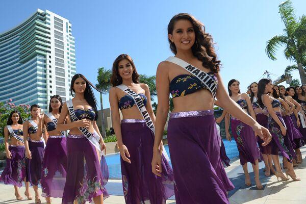 Kandidátky na titul Miss Filipíny, Manila - Sputnik Česká republika