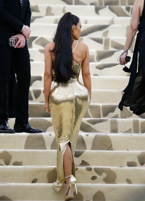 Kim Kardashianová na akci v Metropolitním muzeu umění v New Yorku - Sputnik Česká republika
