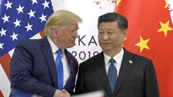 Donald Trump a Si Ťin-pching - Sputnik Česká republika