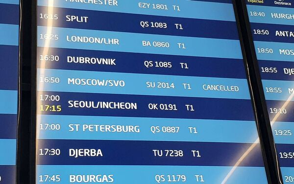 Letový rád na letišti Václava Havla v Praze - Sputnik Česká republika