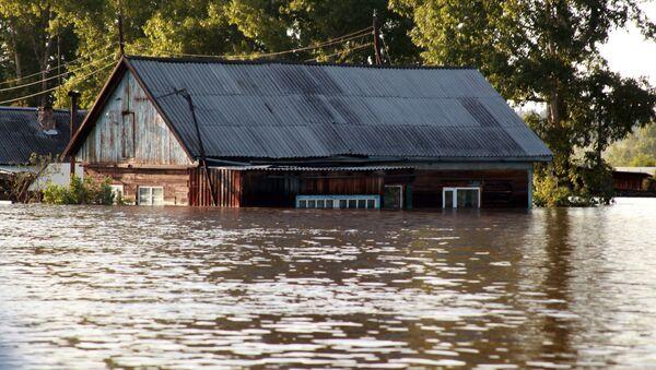 Povodeň v Irkutské oblasti: Snímky ze země, ze vzduchu a z vesmíru. - Sputnik Česká republika