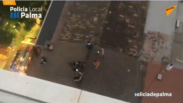 Ve Španělsku hořel populární hotel. Evakuace se dotkla 600 turistů - Sputnik Česká republika