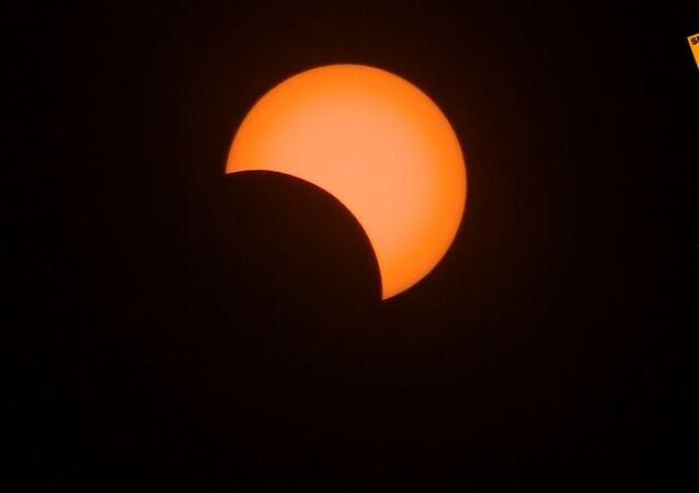 Úplné zatmění Slunce nad Argentinou