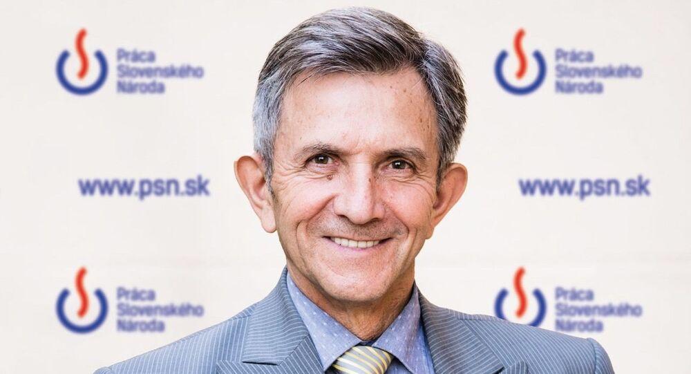 Místopředseda PSN Emil Vestenický