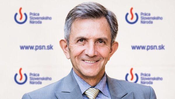 Místopředseda PSN Emil Vestenický - Sputnik Česká republika